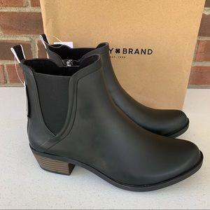 Lucky Brand Basel H2O Chucky Heel Ankle Rain Boots